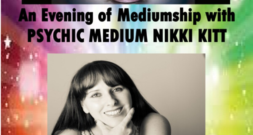 Evening Of Mediumship With Psychic Nikki Kitt