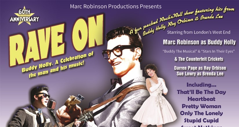 RAVE ON - A Tribute to Buddy Holly 60 Anniversary
