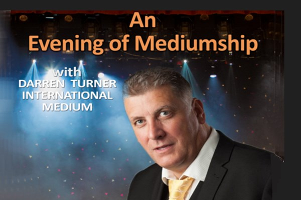 Darren Turner Evening of Mediumship